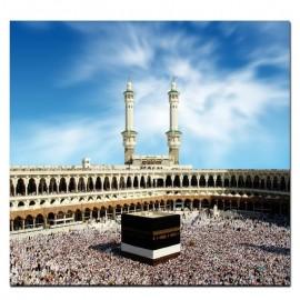 Peinture sur toile La Kaaba La Mecque