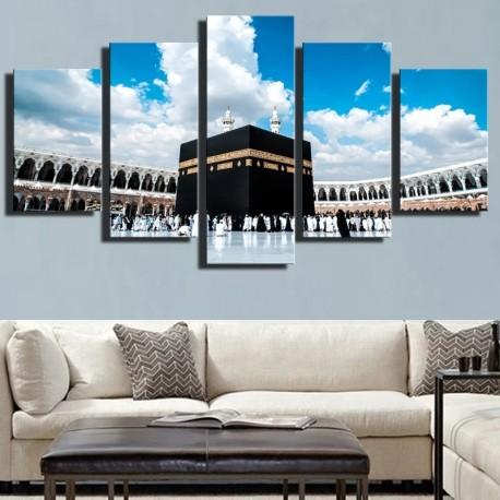 Peinture toile Al Kaaba à la Mecque
