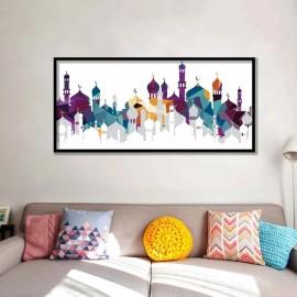 Tableau art Islamique peinture sur toile